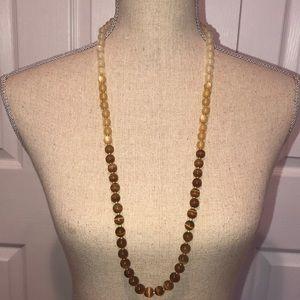 Banana Republic colorblock beaded necklace